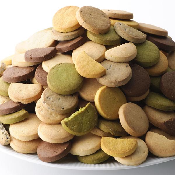 豆乳おからクッキー 訳あり 1kg 1枚約16kcal 8種類のフレーバー(プレーン・アーモンド・パンプキン・黒豆・レーズン・セサミ・抹茶・ココア)