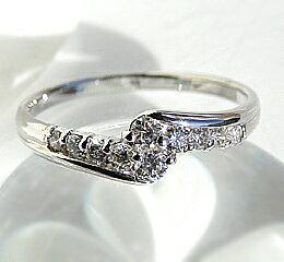 pt900【0.3ct】 テンダイヤモンド リング 【楽ギフ_包装】:jewelry shop BeJ
