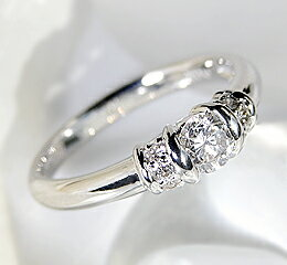 pt900 【0.3ct】大粒ダイヤモンド リング 【楽ギフ_包装】:jewelry shop BeJ