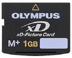 1年保証※OLYMPUS オリンパス XDピクチャーカード Type M+ 収納ケース同梱 海外バルク【1GB】