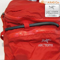ARC'TREYX(アークテリクス)Cierzo18Backpack(14433)Col.DiabloRed[ユニセックス/バック/レッド系/正規品]
