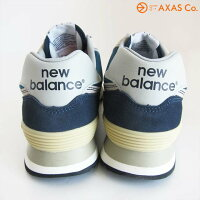 newbalance(ニューバランス)ML574VNCol.NAVY[ユニセックス/シューズ/ネイビー系/正規品]