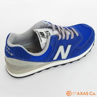newbalance(ニューバランス)ML574VNRCol.BLUE[ウィメンズ/シューズ/ブルー系/正規品]