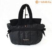 【vaokh】 Repetto (レペット) トートバッグ ANNA SMALL BAG 51152-5-02253 Col.Noir ブラック[ロゴ入りトート/ダンスバッグ/ナイロンバッグ/リボン/送料無料]