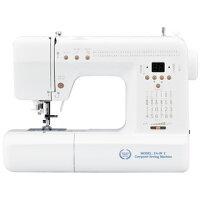 コンピュータミシン 文字縫い FA-99-llS 自動糸調子 ロックカッター付き 白色 ミシン 本体 マリック 初心者にもおすすめ