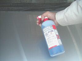 水垢除去剤洗浄力が高くコーティング施工車にも使える(水アカ落とし21Lセット)(スプレーガン、バフ素材スポンジ付き)