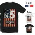 デザイン Tシャツ 送料無料 N°5 アメリカ 国旗 USA LOS ANGELS HOLLYWOOD 954 ロサンゼルス ハリウッド オリジナル ファッション オシャレ アニマル