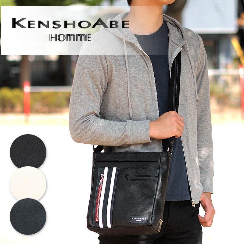 ショルダーバッグ 4393 ケンショウアベ KENSHO ABE 縦型ブレット タブレット収納