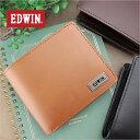 二つ折り財布 財布 0510444 エドウィン EDWIN BOOK型 中ベラ付き2つ折財布 財布【メール便配送商品】