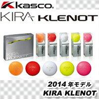 Kasco(キャスコ)KIRA KLENOT(キラ クレノ)ゴルフボール 1ダース(12球入り)