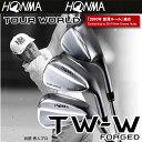 ■16-17年/TW-W■本間ゴルフ(ホンマゴルフ)【日本仕様】 ツアーワールド TW-W FORGED ウェッジ スチール 【2016-17年掲載】【10719】の商品画像