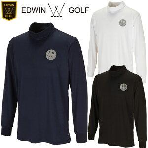 【19秋冬】EDWIN GOLF(エドウィン)EG19AW5030 メンズ モックネックシャツ MOCK NECK SHIRT【11871】