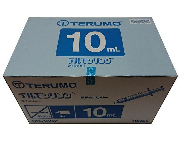 TERUMO テルモシリンジ 10mL 中口 SS-10SZ 1箱 (100本入)