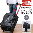 【5%OFF・国内送料無料】THE NORTH FACE(ザ・ノースフェイス)ROLLING THUNDER 22(ローリングサンダー22インチ)40リットル/キャリーバッグ/ブリーフケース/the north face nm81467_BK【RCP】