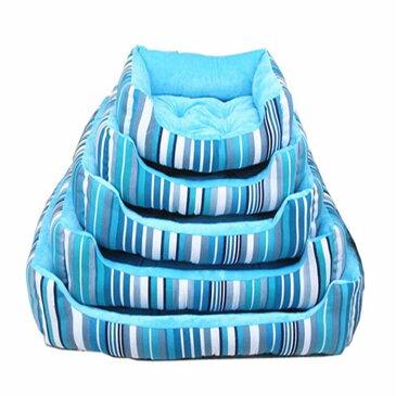 猫ベッド ペットベッド 犬ベッド スクエア ソファ ベッド サイズ50cm 60cm 通気 ふわふわ 四季通用 多頭飼い 小型犬用ベッド