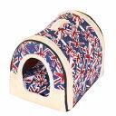 ペットハウス クッション 小型犬 子犬 子猫 ウサギ 折りたたみ 2way仕様 可愛い 室内用 6タイプ 屋根付き 通年用 冬ベッド サイズM約45*35*35CM