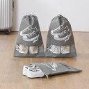 シューズバッグ 収納袋 マルチスポーツ スポーツバッグ 袋 大き目シューズポーチ 靴ケース 靴収納袋 旅行用荷物整理袋 トラベル ポーチ 収納 靴入れ アウトドア 旅行 スポーツ 持ち運び 6個セット 2サイズ 大人用 子供用