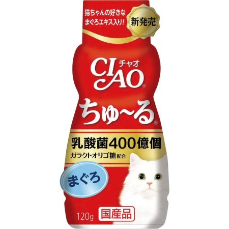 CIAO乳酸菌ちゅーるまぐろ【CIAOチャオ猫キャットフードえさちゅーるおやつ】