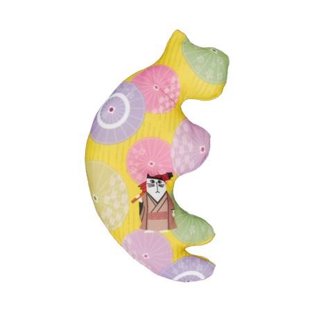 ペットプロ ころにゃんまくら またたび入り 番傘【ペットプロジャパン ペット おもちゃ 猫 キャット】