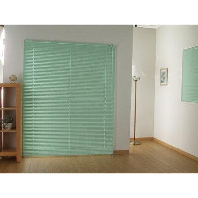 ベーシックなカラーでお部屋を演出致しますアルミブラインド カリーノ25 幅175cm×高さ183cm グ...