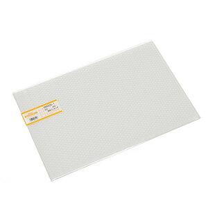アクリル・ペット・ポリカ・塩ビ・発泡板材シリーズ塩ビパンチング 透明 1×300×450ミリ EB4335-1