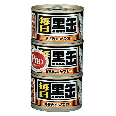 毎日黒缶3Pささみ入りかつお