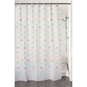 シャワーカーテン ドゥーチェ 幅140×高さ150cm フラワー