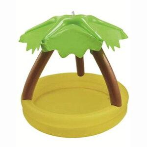 ジュニアが遊べるかわいいプールサンシェードプール 100cm ヤシの木 シャワー付 80607WP537【プ...