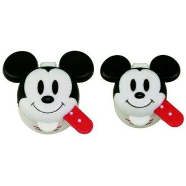 ディズニー ミッキーマウス マヨネーズ/ケチャップケース 2p【スケーター LDM1 ミッキー ミッキーマウス ディズニー Disney 調味料ケース 小分け お弁当】