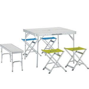 ベンチテーブルセット6(メイプル)