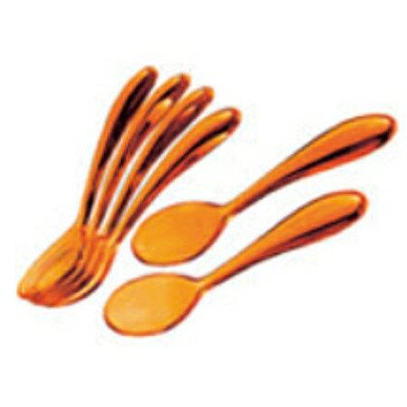グッチーニ ティースプーン(6本組)12cm 217300 45オレンジ