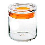 グッチーニ ガラスジャー750 285512 22グレー【guzzini 保存容器 タッパー タッパウェア 密閉容器 密封容器 調理器具 キッチングッズ】