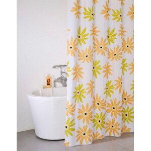 シャワーカーテン ブリーズ フラワー 130×150cm