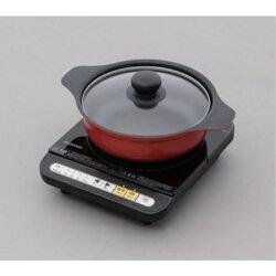 IHコンロ鍋セット1000W  IHKP-3420-B/R