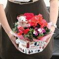 お花の寄せカゴカラフルフレンチバッグ【寄せかごフラワーギフト母の日母の日2016母の日フラワーギフト母の日ギフト】