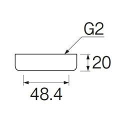 袋ナットセットU7-64S【三栄水栓SANEIU7-64S水道用品キッチン用品流し排水栓】