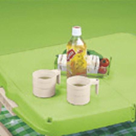 ホルン ハンディーテーブル カップ付 グリーン MP-953