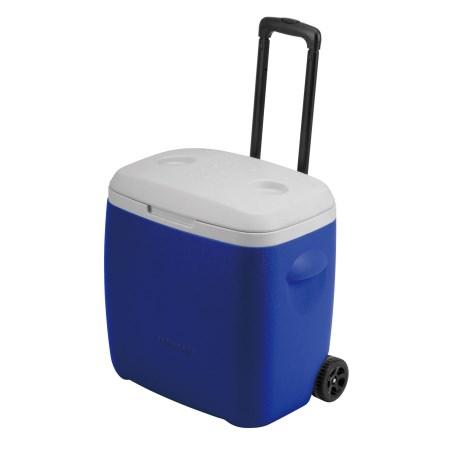 リガード ホイールクーラー28L(ブルー) M-5281
