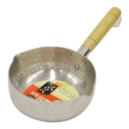 味くらべ 厚板アルミ行平鍋18cm H-1426