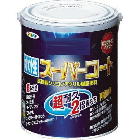 アサヒペン 水性スーパーコート 1.6L 白