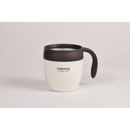 カフェマグ 真空マグカップ350(バニラ)
