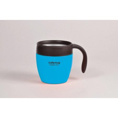 カフェマグ 真空マグカップ350(フレンチブルー)
