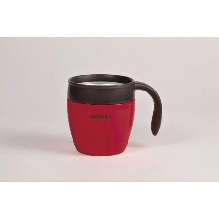 カフェマグ 真空マグカップ350(ストロベリー)