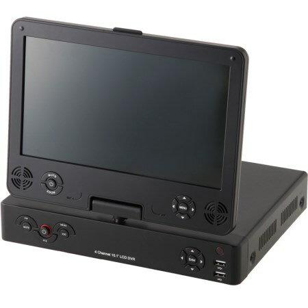 4CHモニター付きハイビジョンDVR NS-F401MR【NSK 防犯 カメラ】
