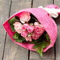 バラとカーネーションのブーケ【母の日カーネーション2017バラギフトプレゼント花束ブーケ】