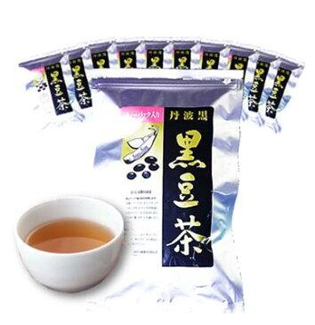 丹波黒 黒豆茶 10袋セット(10g×14パック)ティーバッグ入り 黒豆煮汁 健康茶