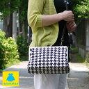 がま口 バッグ【受注生産品】がま口KAKUポシェット【帆布・バードチェ...