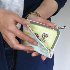 カードケースがま口【在庫商品】仕切り付きがま口カードケース【帆布・ムラクモ/鮫紋】がまぐちかわいい名刺入れカードケースポイントカード入れ薄型手作り和雑貨がま口母の日