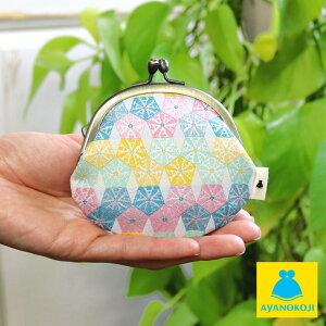 【財布】2.6寸がま口財布【AYANOKOJI結晶柄】<和雑貨>