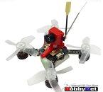 HOBBYNET Jumper X73S FPVクアッドコプター赤色(カメラ+25mwVTX+S-FHSS付き)